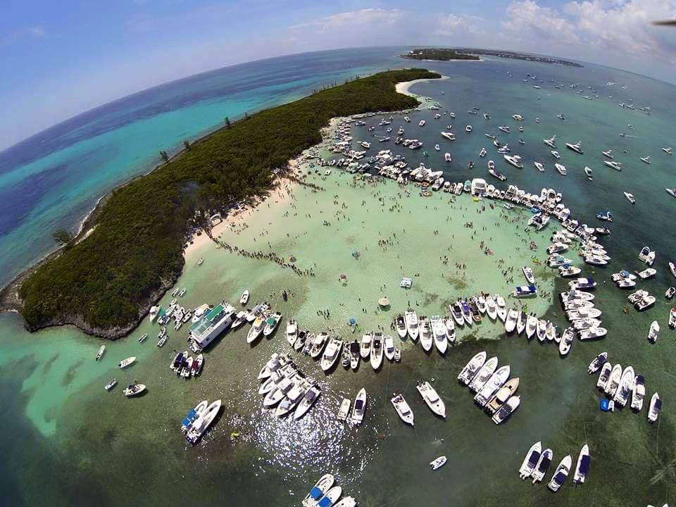 Bahama Boat Works-Cheeseburger in Paradise Drone Pic